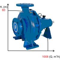 Насос CA 200-40  под двигатель  132 кВт